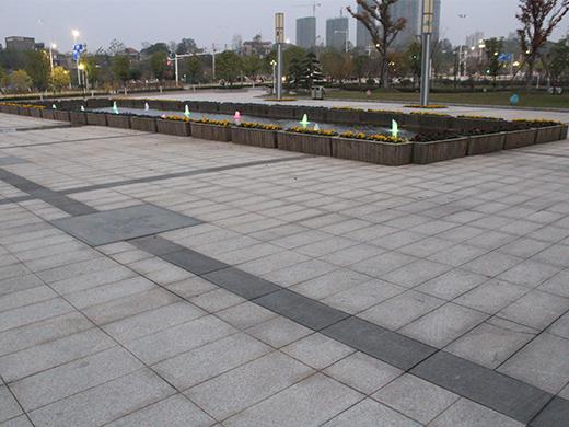 广场地铺石